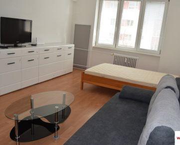 Prenájom 1-izb.byt 41m2+pivnica; tehla; Kadnárová ul.; Bratislava II. – Rača-Krasňany