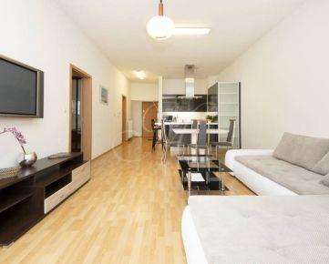 Zariadený 2i byt s veľkou terasou v centre