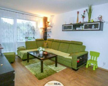 3-izbový byt s výhľadom v tichej štvrti
