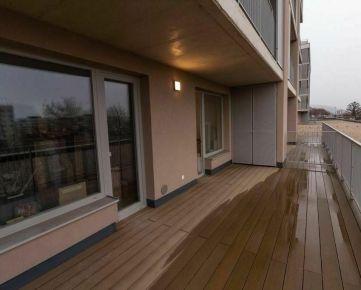 ATRAKTÍVNA NOVOSTAVBA s pekným výhľadom na mesto, 2 izb. Nová Terasa, 13m2 terasa, parkovacie miesto
