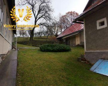 EXKLUZÍVNE LEN U NÁS - Predaj gazdovského domu v krásnom prostredí obce Počúvadlo