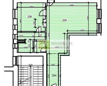 2 izbový byt v nadštandarde v centre mesta - Gunduličova ulica, 58 m2