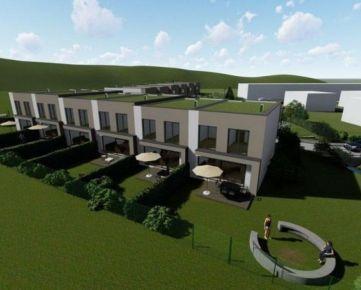 Exkluzívne radová výstavba Diaková- Úžitková plocha domu 120m2 pozemky až do 496,5m2. CENA: 159 000,00 EUR
