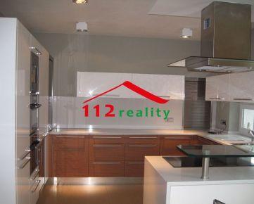 112reality - Na prenájom 4 izbový luxusný byt s terasou 180m2 v novostavbe s parkovaním pre 2 autá, rýchly výjazd na diaľnicu