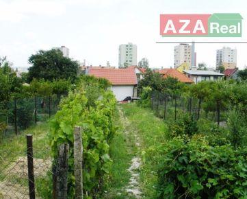 Záhradka pre relax v Rači je na predaj, aj investícia