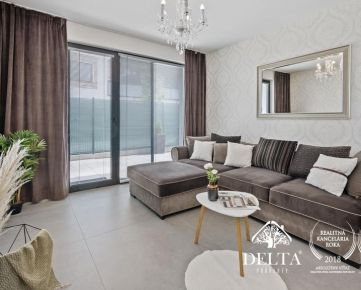 REZERVOVANÝ DELTA | 3 izb.byt s terasou a predzáhradkou v projekte Na Piesku, Ružinov, 168 m2