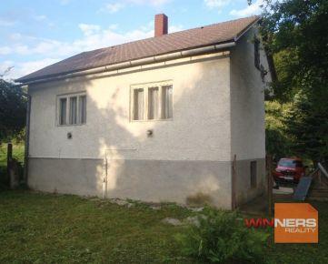 Exkluzívne Vám ponúkame starší rodinný dom v obci Radvaň nad Laborcom