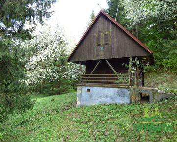 Rekreačná chatka, obec Králiky, okres Banská Bystrica