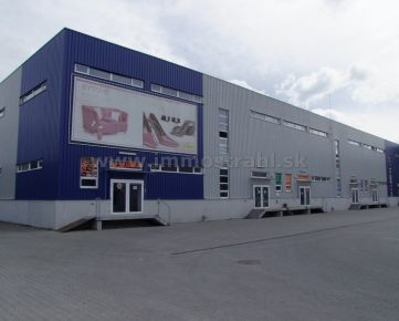 Skladové a kancelárske priestory – 900 m2 (600 m2 prízemie + 300 m2 poschodie) na prenájom na Ul. Stará Vajnorská