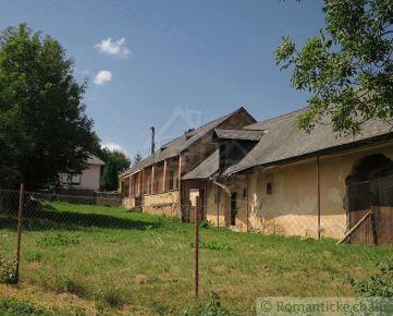 Gazdovský dom na rekonštrukciu v obci Chorváty.