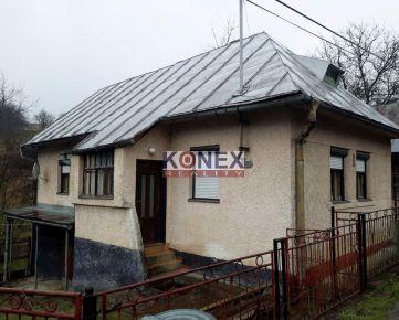 KONEX REALITY – Gazdovský domček v obci Hrubov, okr. Humenné