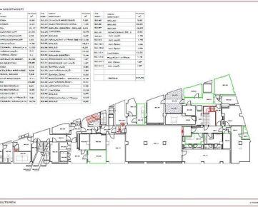 Lukratívne priestory NA PRENÁJOM, 1012 m2, centrum - Štúrova ul., budova LUXOR - podzemie