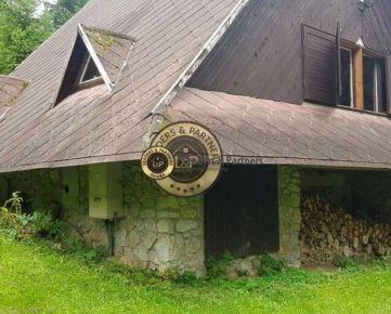 Dvojpodlažná rekreačná chata na Ružíne, pozemok 600m2