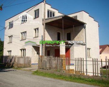 GARANT REAL - predaj rodinný dom, OV, 511 m2, Fričkovce, okr. Bardejov