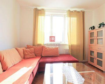 HERRYS - Na prenájom zariadený 1 izbový byt v blízkosti OC RETRO v Ružinove