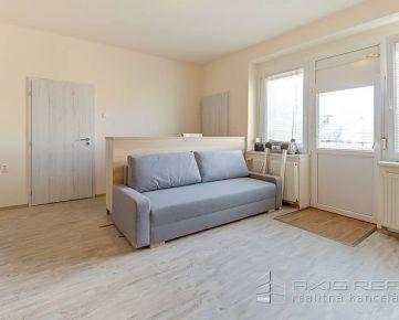 360° VP:: 1-izb. byt, LODŽIA, BA III. Nové Mesto, Belehradská ul.
