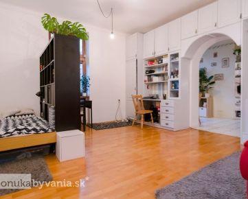 PALÁRIKOVA, 5-i byt, 125 m2 - HISTORICKÝ, vysoké stropy, MEZONET, tehla, rekonštrukcia