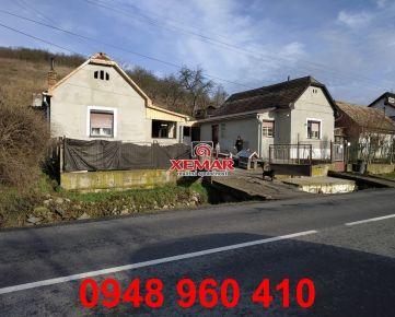 Na predaj dva rodinné domy vo Fiľakove.