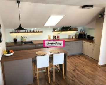 COMFORT LIVING ponúka - Priestranný a zariadený 3 izbový byt s terasou v NOVOSTAVBE, parkovacie státie, krásny výhľad