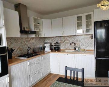 Apartim s.r.o predá veľký zrekonštruovaný 3 izbový byt na Kríkovej ul.