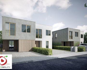 TRNAVA REALITY ponúka na predaj 4-izbové rodinné domy v krásnom prostredí obce Hrubá Borša