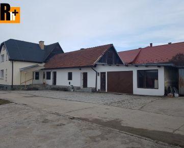 Rodinný dom Rozhanovce + Haly na predaj