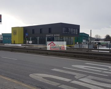 Výrobno- obchodný a skladovací areál Košice - prenájom