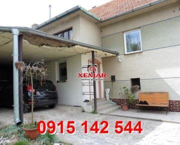 Na predaj 4 izb byt v rodinnom dome v obci Klokoč