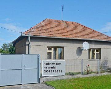 Predaj – Dom – Veľké Chrášťany - Nová cena