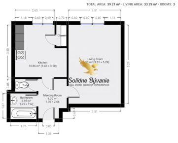 Rezervovaný!!! Exkluzívne!!! Veľký 1 izbový byt v obľúbenej lokalite na Triede SNP na predaj