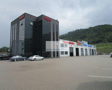 Dražba modernej administratívnej budovy a truckservisu Svidník