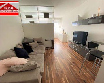 Ponúkame na prenájom 1-izbový byt vnovostavbe Letná Residence na Letnej ulici vBratislave, mestská časť Nové Mesto, 450,-Eur aj s energiami, KTV a internetom