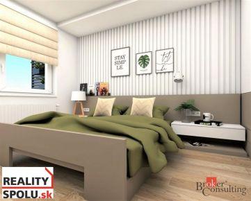 Novostavba 2 izbový byt - už skolaudovaný s veľkou terasou, jeden z posledných voľných bytov !!!!