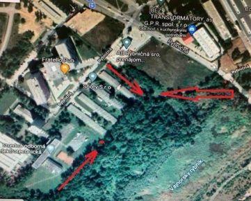 Pozemok na predaj medzi Rybničnou ul. a Na Pántoch, Bratislava