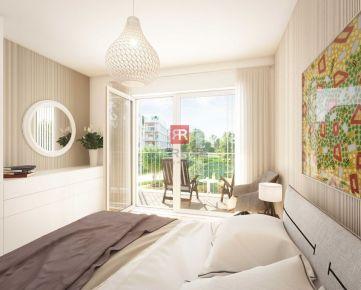 HERRYS - Na predaj 3 izbový apartmán s balkónom v projekte Nový Ružinov