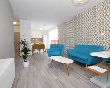 REZERVOVANÝ- Na predaj , 79 m2, NOVOSTAVBA, krásny moderný 2 izbový byt s terasou