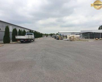PRENÁJOM - Výrobná hala 1300 m2, 2 km od Jaguar Land Rover Nitra