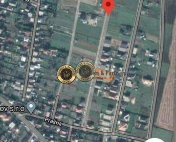 Pozemok na stavbu RD Košice - Krásna, záhumnie, IS pred pozemkom