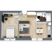2-izb. byt 47m2, kompletná rekonštrukcia