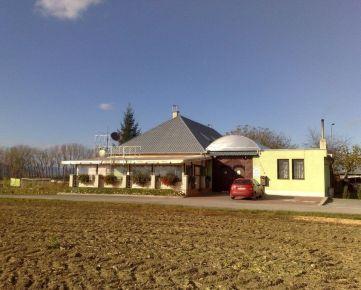 Reštaurácia v obci Hrádok, okr. Nové Mesto nad Váhom