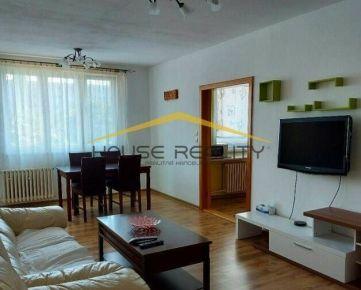 Prenájom pekný priestranný 3 izbový byt s lodžiou, Ožvoldíkova ulica, Bratislava IV Dúbravka