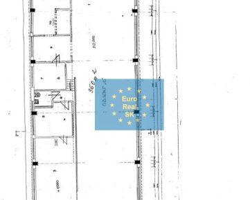 Prenajmeme v Košiciach, Južná trieda skladový priestor o výmere 360 m2, parkovanie.