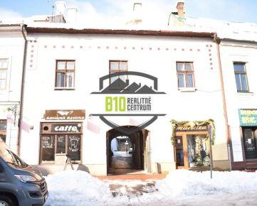 Historická budova v centre Banskej Bystrice