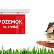 Pozemok pre rodinné domy 884m2