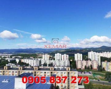 Predaj 3 iz. byt s krásnym výhľadom v Banskej Bystrici, mestská časť Sásová