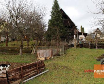 Predaj chata  so záhradou 373 m2, Zvolen - Môťová