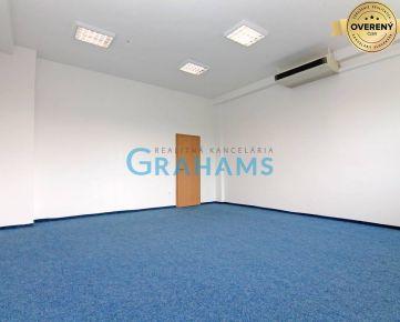 GRAHAMS - PRENÁJOM samostatného traktu 7 kancelárií na 4. posch.