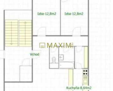 Veľký, zrekonštruovaný 3i byt s 2 loggiami na Martinengovej