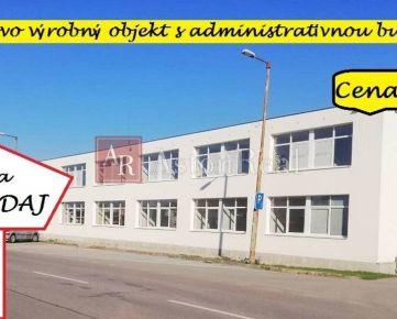Skladovo-výrobný objekt s administratívnou budovou, Zlatovská, Trenčín