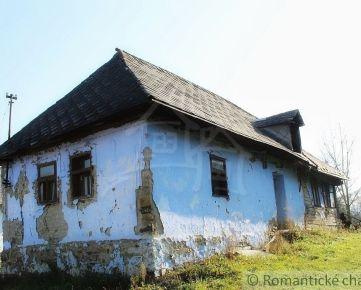 Kamenný dom a pekný pozemok- Svetlice